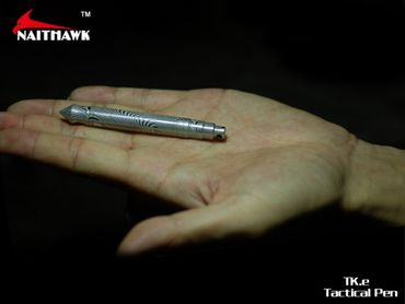Naithawk TK.e Damast Steel tactical defense pen – Bild 3
