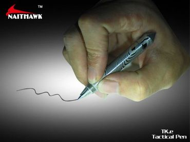 Naithawk TK.e Damast Steel tactical defense pen – Bild 7