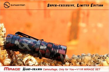 Sunwayman V11R U3 LED MIRAGE SET - Limited Editon – Bild 4