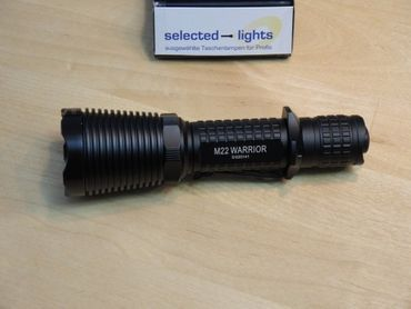 Olight M22 Warrior Special Operation XM-L2 LED blackfinish – Bild 4