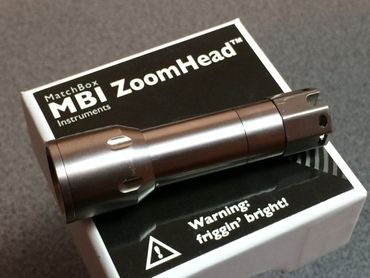 Zoomhead Titan für selected-lights MBI HF-R XP-G2 (cool white) – Bild 3