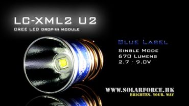 Solarforce XM-L2 U2 LED Modul Dropin - 1 Stufe – Bild 1