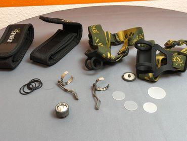 Spark Ersatzteile wie Gläser, Clips, O-Ringe, Kopfbänder nach Anfrage – Bild 1