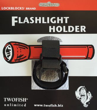 Twofish Fahrrad Lampenhalterung für 18650er und AA Lampen – Bild 1