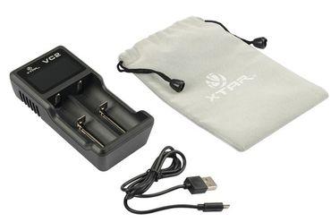 Xtar VC2 USB 2 Schacht Ladegerät für Li-Ionen Akkus – Bild 3