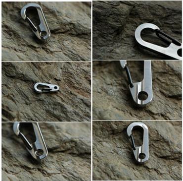 "Titaner Titanium Clip Carabiner 1""  klein – Bild 4"
