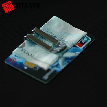 Titaner Titanium Pocket Clip TI Money Clip – Bild 4