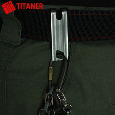 Titaner Titanium Pocket Clip TI Money Clip – Bild 7