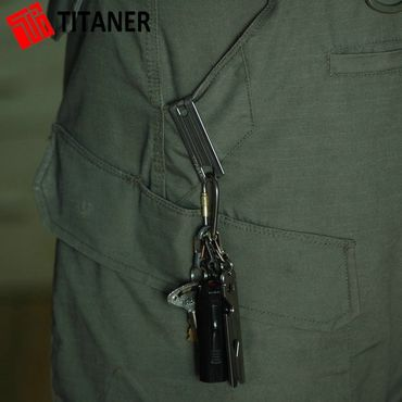 Titaner Titanium Pocket Clip TI Money Clip – Bild 8