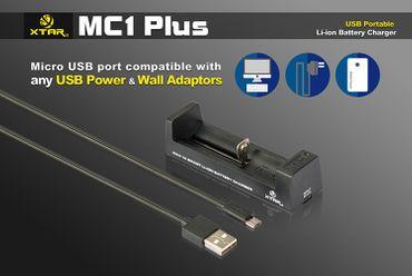 USB Reise Ladegerät Xtar MC1 Plus für Li-Ionen bis 1000mAh – Bild 3