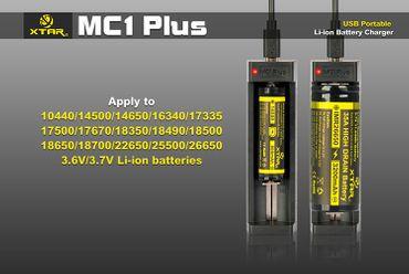 USB Reise Ladegerät Xtar MC1 Plus für Li-Ionen bis 1000mAh – Bild 4