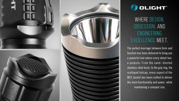 Olight M23 Javelot XP-L LED LED Taschenlampe bis 1020 Lumen – Bild 6