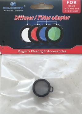 Olight Diffusor Filter weiss der S-Serie – Bild 2