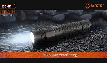 Niteye KO-01 CREE XP-L LED bis 1080 Lumen aufladbar – Bild 1