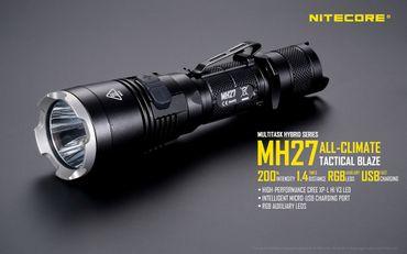 Nitecore Multitask Hybrid MH27 mit XP-L Hi V3 LED aufladbar