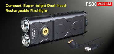 Klarus RS30 Spotlight mit 2x XM-L2 U2 LED – Bild 1