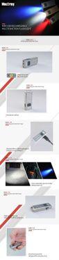 selected-lights MecArmy SGN3 aufladbare Taschenlampe mit 160 Lumen – Bild 5