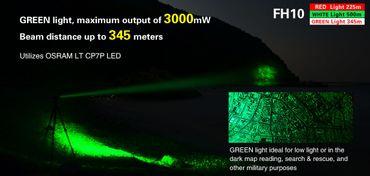 Klarus FH10 Collimator mit Farb LEDs Jagdlampe – Bild 7