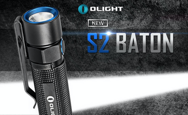 Olight S2 BATON XM-L2 U3 LED Taschenlampe für 18650 Akku – Bild 8