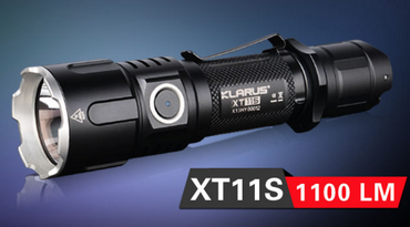 Klarus XT11S XP-L-HI LED aufladbare universal Taschenlampe – Bild 1