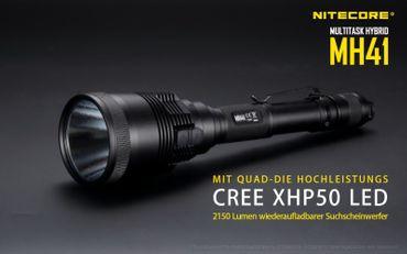 Nitecore Multitask Hybrid MH41 XH-P50 LED bis 2150 Lumen – Bild 2