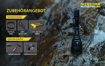 Nitecore Multitask Hybrid MH41 XH-P50 LED bis 2150 Lumen – Bild 9
