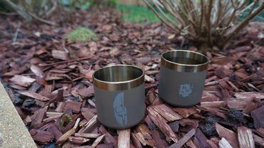 Titaner Tasse Titan whiskey  Mug 1 Stk.- Spezial anodisiert – Bild 4