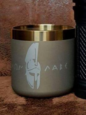 Titaner Tasse Titan whiskey  Mug 1 Stk.- Spezial anodisiert – Bild 2