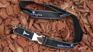 selected-lights Premium Quality Lanyard – Bild 2