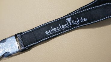 selected-lights Premium Quality Lanyard – Bild 3