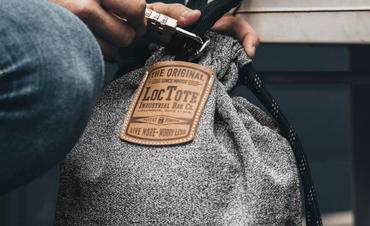 loctote flak sak bag - die schnittfeste Diebstahl Schutz Tasche  – Bild 3