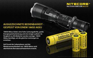 Nitecore Multitask Hybrid MH27UV mit XP-L Hi V3 LED aufladbar – Bild 8