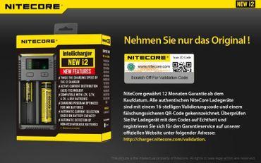 Nitecore Intellicharge NEW i2 Ladegerät für 2 Akkus Li-Ionen oder Ni-Mh - 2016 Version – Bild 9