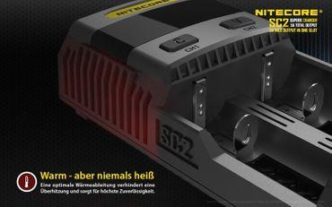 Nitecore SC2 - 3A Schnelllader – Bild 7