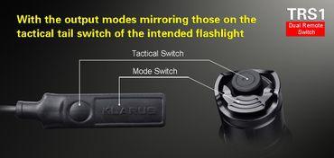 Klarus TRS1 Kabelschalter Fernschalter für XT11S XT11GT (Spiral Kabel) – Bild 5