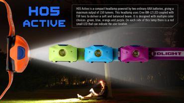 Olight H05 Kopflampe IR Active – Bild 7