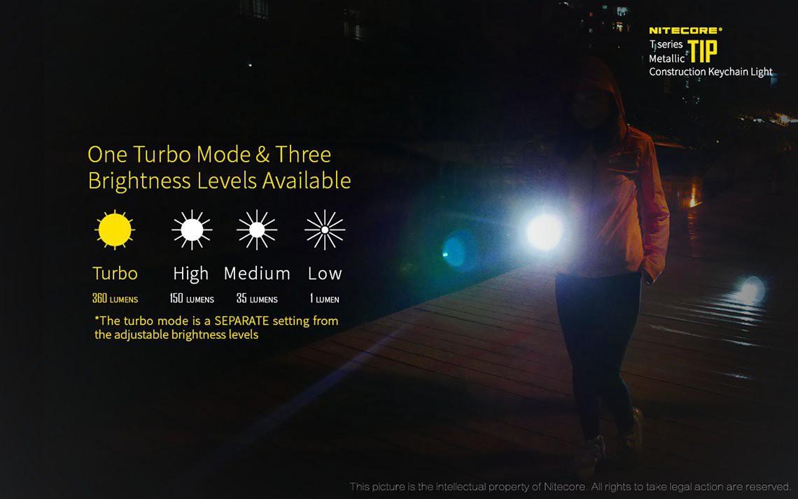 nitecore tip cri aufladbare schl sselanh ngerlampe 240. Black Bedroom Furniture Sets. Home Design Ideas