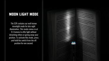 Olight S2R BATON XM-L2 LED 1020 Lumen - aufladbar EDC Light – Bild 7