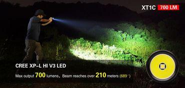 Klarus XT1C mit XP-L Hi LED und Dualswitch – Bild 4