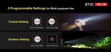Klarus XT1C mit XP-L Hi LED und Dualswitch – Bild 5
