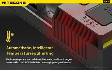 NiteCore Intellicharge NEW i4 Ladegerät – Bild 7