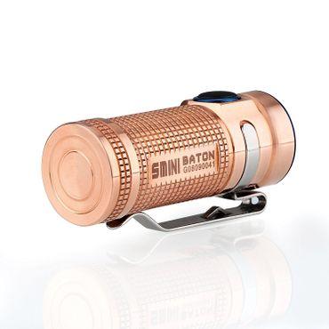 Olight S MINI Copper RAW BATON XM-L2 LED 550 Lumen - EDC Light – Bild 4