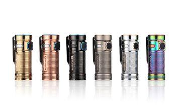Olight S MINI Copper RAW BATON XM-L2 LED 550 Lumen - EDC Light – Bild 8