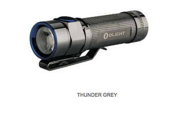 Olight S1A BATON thunder grey Stainless Steel XM-L2 LED 600 Lumen - limited Edition – Bild 1