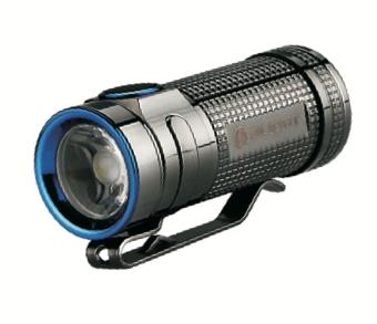 Olight Smini Baton thunder grey -Limited Edititon- Edelstahl XM-L2 LED 550 Lumen – Bild 1
