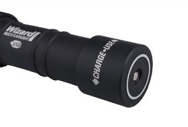 Armytek Wizard Pro USB mit XH-P50 CW LED 2300 Lumen mit Ladefunktion – Bild 4