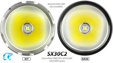 EagTac SX30C2 Kit mit XHP35 Hi E2 LED mit 1870 Lumen  – Bild 2