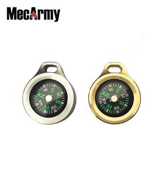 MecArmy CMP-B Kompass mit Kette aus Messing – Bild 2