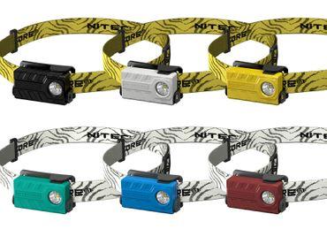 Nitecore NU20 LED Kopflampe mit integrierter Akku aufladbar in verschiedenen Farben – Bild 11