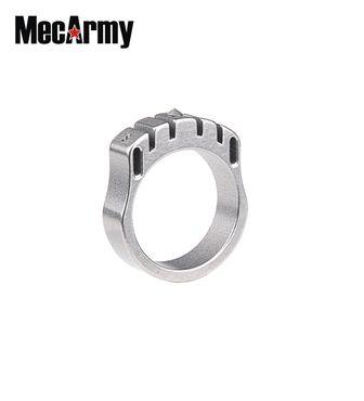 MecArmy SKF2T Titanring Tritium mit Kette und Pendel – Bild 1